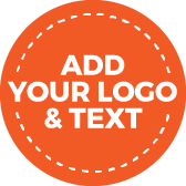 Add your logo and text