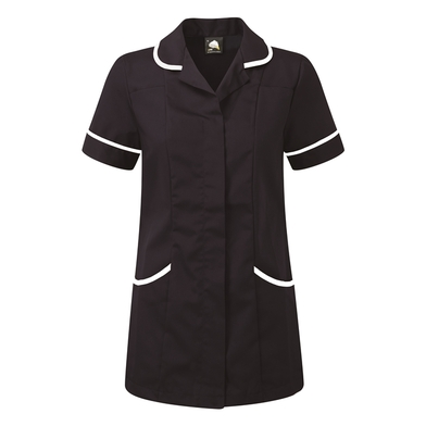 Florence Classic Healthcare Tunic  In Navy/White
