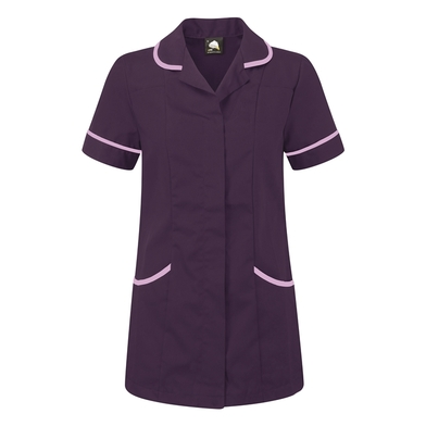 Florence Classic Healthcare Tunic  In Purple/Lilac