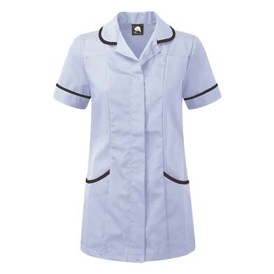 Florence Classic Healthcare Tunic  In Sky/Navy