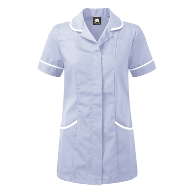 Florence Classic Healthcare Tunic  In Sky/White