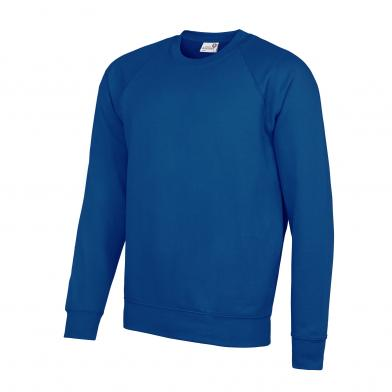 Academy Raglan Sweatshirt In Academy Deep Royal