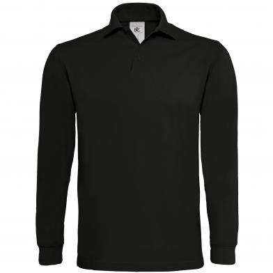 B&C Heavymill Long Sleeve In Black