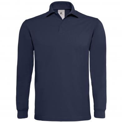 B&C Heavymill Long Sleeve In Navy