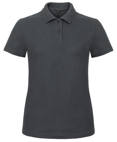 B&C ID.001 Polo /women In Anthracite