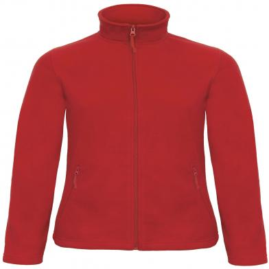 B&C ID.501 Fleece /women In Red