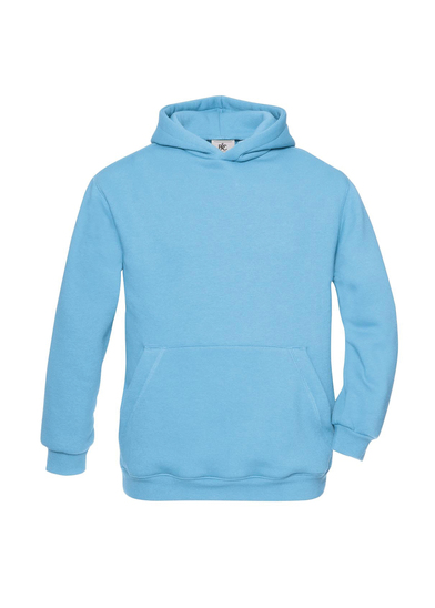 B&C Hooded /kids In Very Turquoise