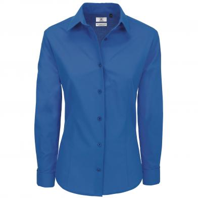 B&C Heritage Long Sleeve /women In Blue Chip