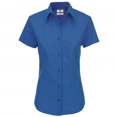 B&C Heritage Short Sleeve /women In Blue Chip