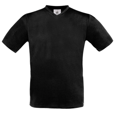 B&C Exact V-neck In Black