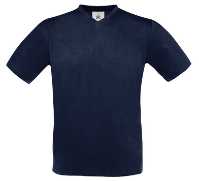 B&C Exact V-neck In Navy
