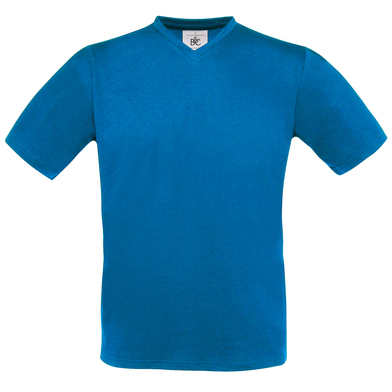 B&C Exact V-neck In Royal Blue