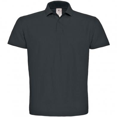 B&C ID.001 Polo In Anthracite