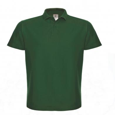 B&C ID.001 Polo In Bottle Green
