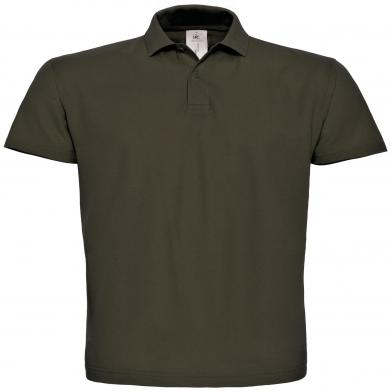 B&C ID.001 Polo In Brown