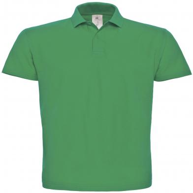 B&C ID.001 Polo In Kelly Green