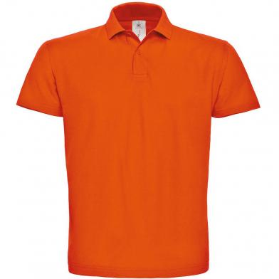 B&C ID.001 Polo In Orange