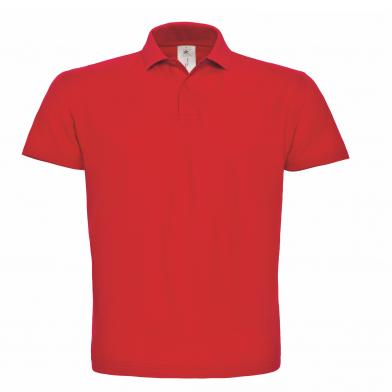 B&C ID.001 Polo In Red