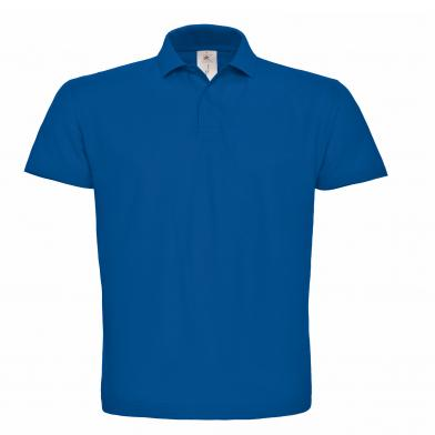B&C ID.001 Polo In Royal Blue