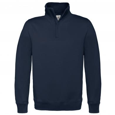 B&C ID.004 � Zip Sweatshirt In Navy