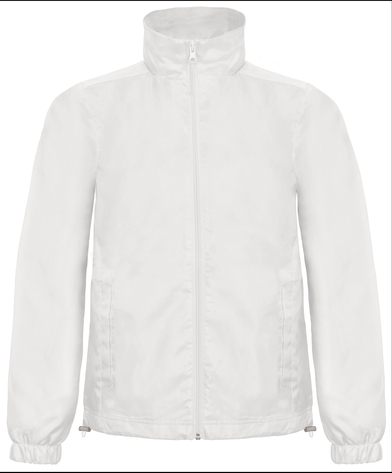 B&C ID.601 Jacket In White