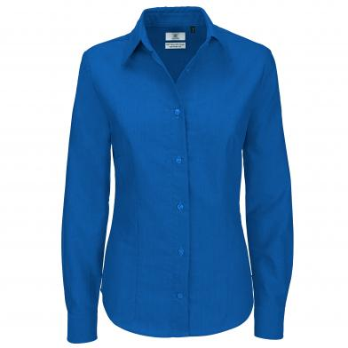 B&C Collection - B&C Oxford Long Sleeve /women