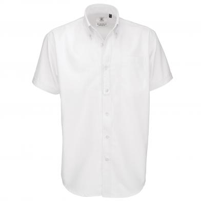 B&C Collection - B&C Oxford Short Sleeve /men