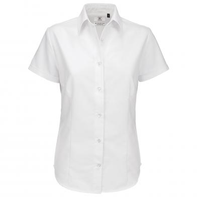 B&C Collection - B&C Oxford Short Sleeve /women