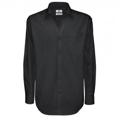 B&C Sharp Long Sleeve /men In Black