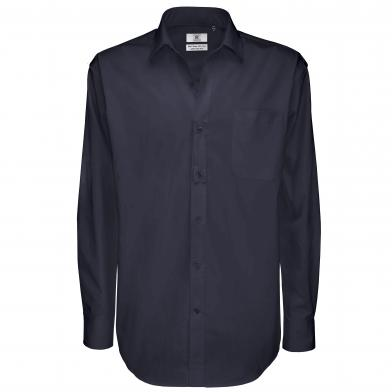 B&C Sharp Long Sleeve /men In Navy