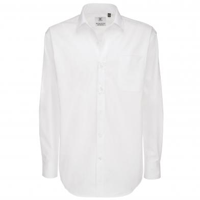 B&C Sharp Long Sleeve /men In White