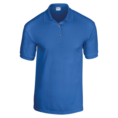 DryBlend Jersey Knit Polo In Royal