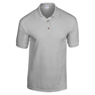 DryBlend Jersey Knit Polo In Sports Grey