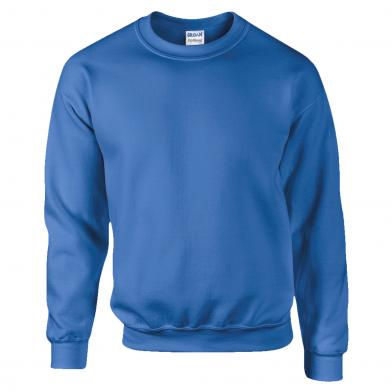 DryBlend Adult Crew Neck Sweatshirt In Royal