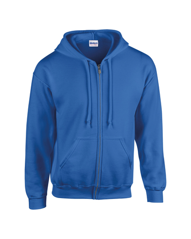 Heavy Blend� Youth Full-zip Hooded Sweatshirt In Royal
