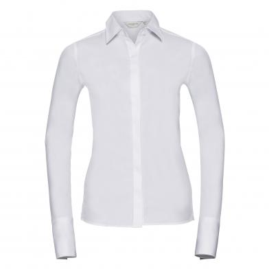 Russell Collection - Women's Long Sleeve Ultimate Stretch Shirt