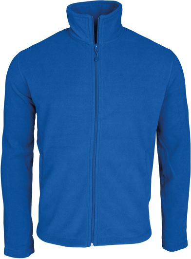 Falco Zip-through Microfleece Jacket In Royal