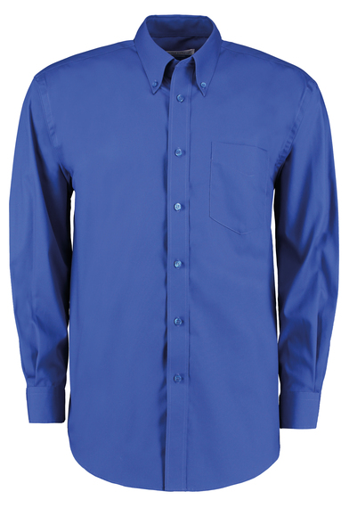 Corporate Oxford Shirt Long-sleeved (classic Fit) In Royal