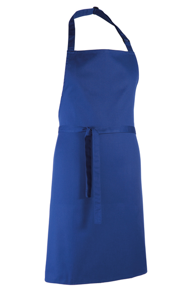 Colours Bib Apron In Royal