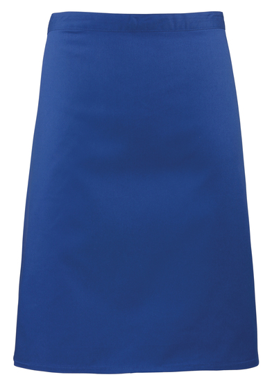 Colours Mid-length Apron In Royal