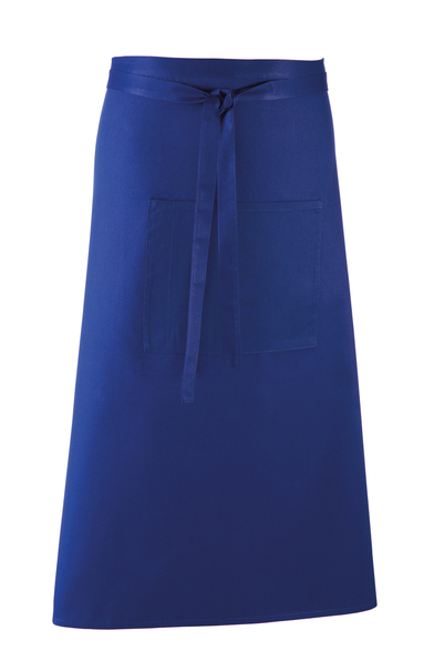 Colours Bar Apron In Royal