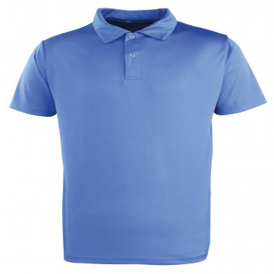 Coolchecker� Studded Polo In Royal