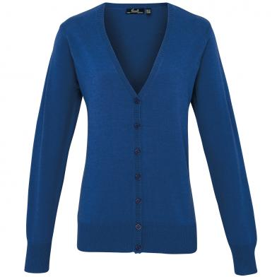 Premier - Women's Button-through Knitted Cardigan