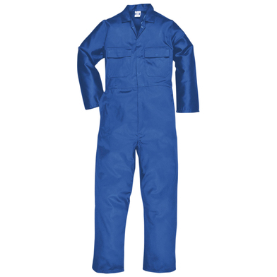 Euro Work Polycotton Coverall (S999) In Royal