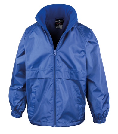 Core Junior Microfleece Lined Jacket In Royal