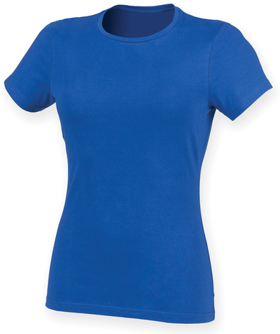 Feel Good Women's Stretch T-shirt In Royal