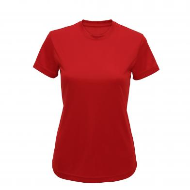 Women's TriDri� Performance T-shirt In Fire Red*