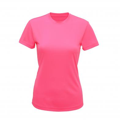 Women's TriDri� Performance T-shirt In Lightning Pink