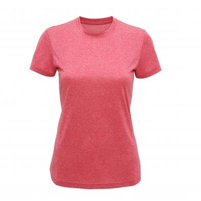 Women's TriDri� Performance T-shirt In Pink Melange