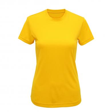 Women's TriDri� Performance T-shirt In Sun Yellow*